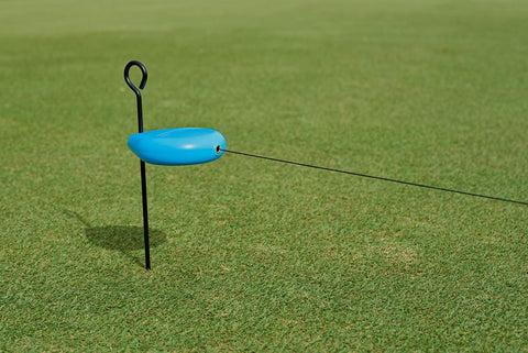 Rain Drop retractable putting string - RainDrop by Perfect Practice