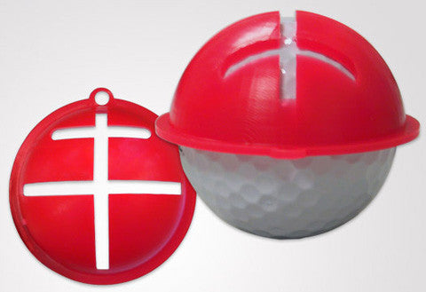 Spot Liner Golf Ball Alignment Stencil - Putting Aid