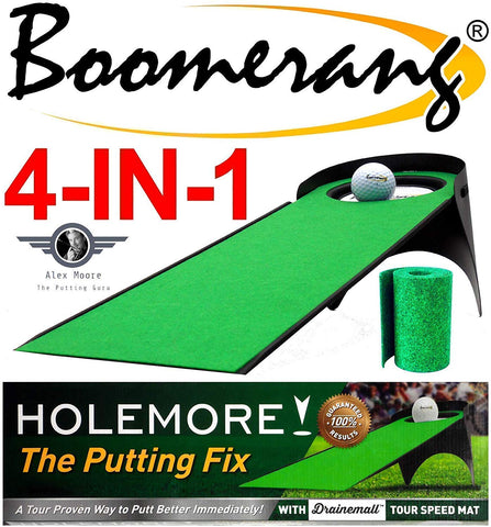 Holemore: The Putting Fix by Boomerang Golf