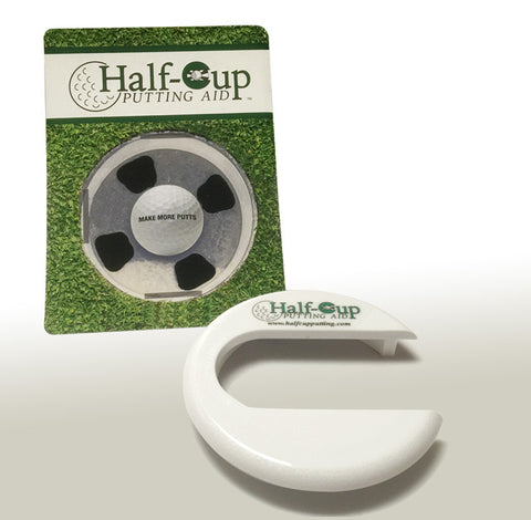 Half-Cup Putting Aid
