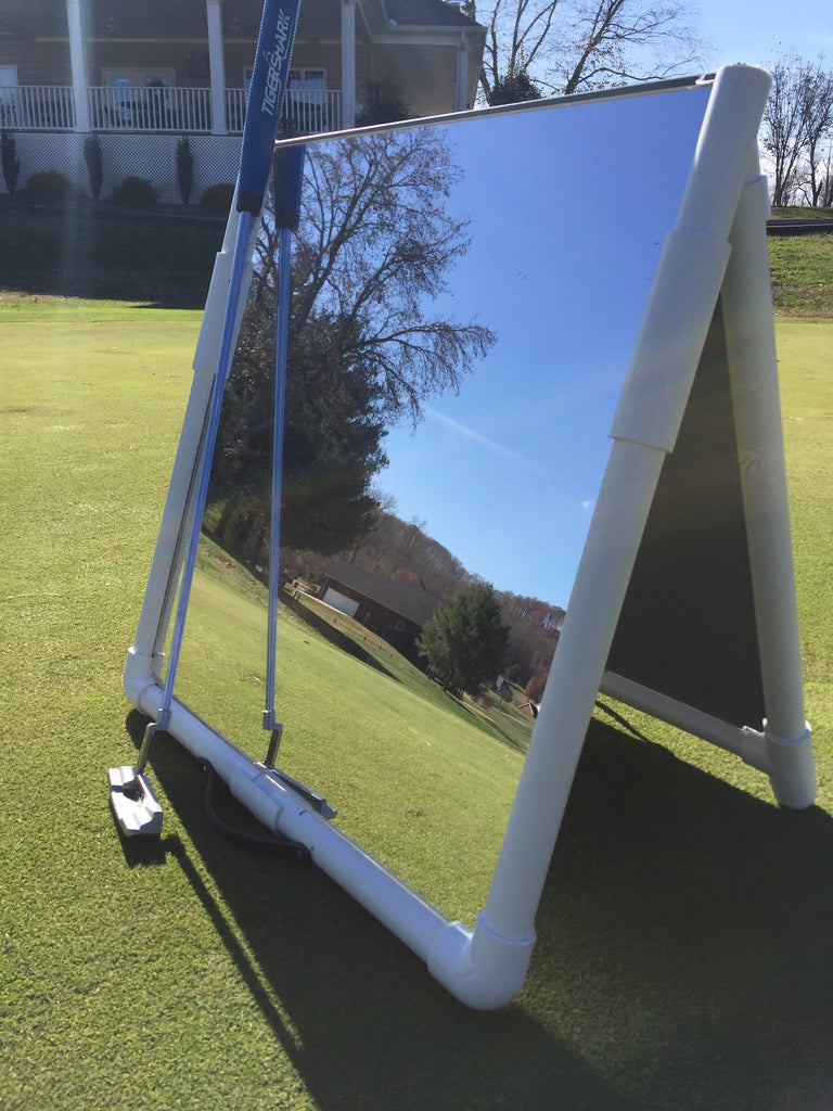 Swing Reflection foldable golf teaching mirror