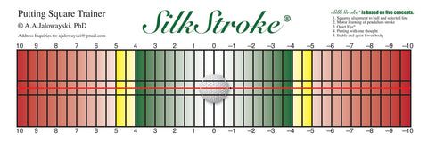 SilkStroke Putting Templates (Straight or Arc)