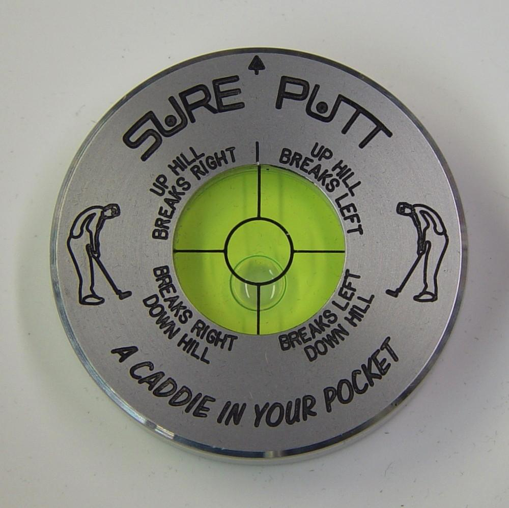 Sure Putt - Black/Silver/Poker/Flag
