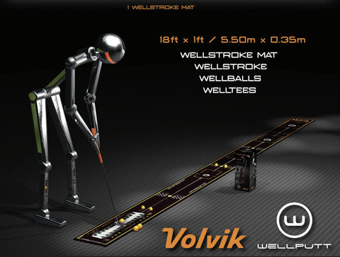 WellStroke Volvik 18-foot Putting Mat