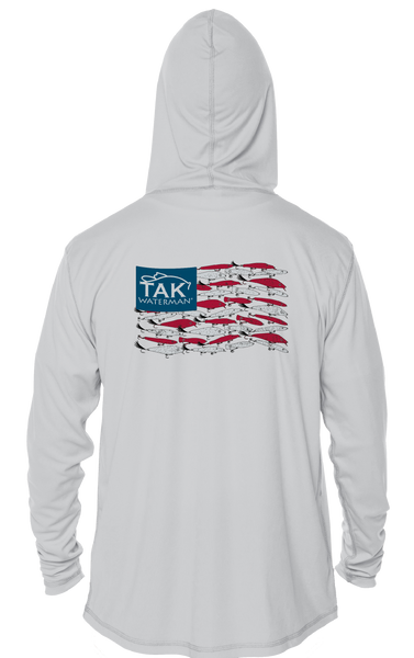 Youth American Lure Flag Solar Tech L/S Hoody