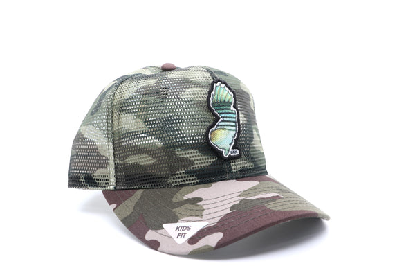 Youth 360° Mesh Trucker™ NJ Striper