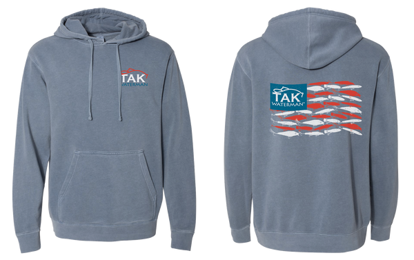 American Lure Flag Hooded Sweatshirt