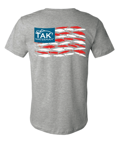 American Lure Flag Tee(SOLD OUT)