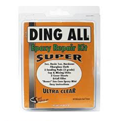 Ding All Epoxy Super Surfboard Repair Kit