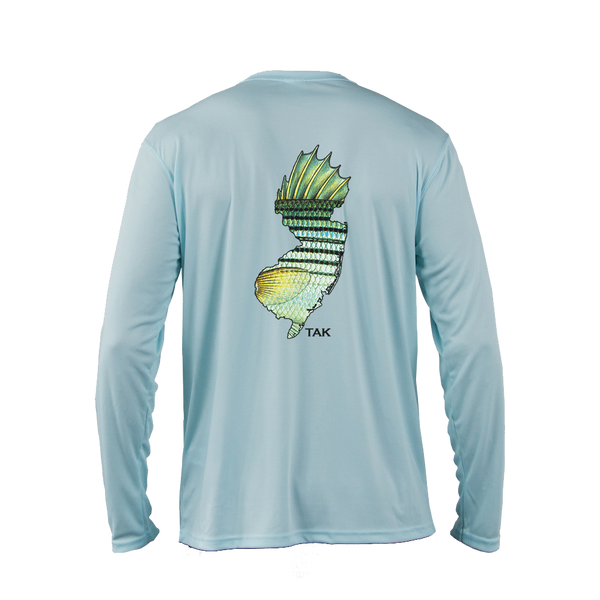 NJ Striper Solar Tech L/S