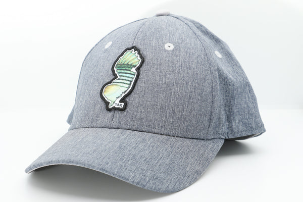 Premium Solar Performance Snap-back Hat w/ NJ Striper logo