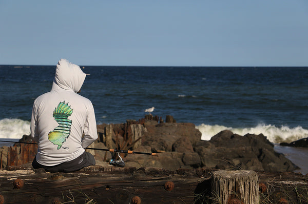 NJ Striper Solar Tech L/S Hoody