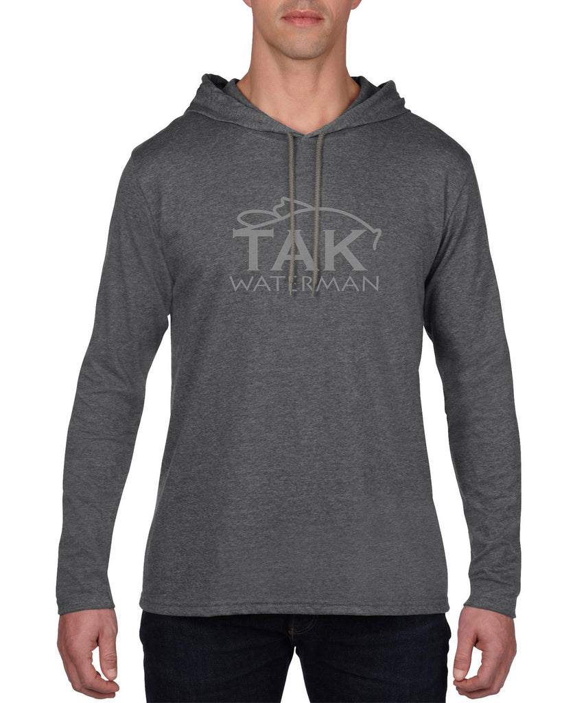 Premium Long Sleeve Hooded T-shirt