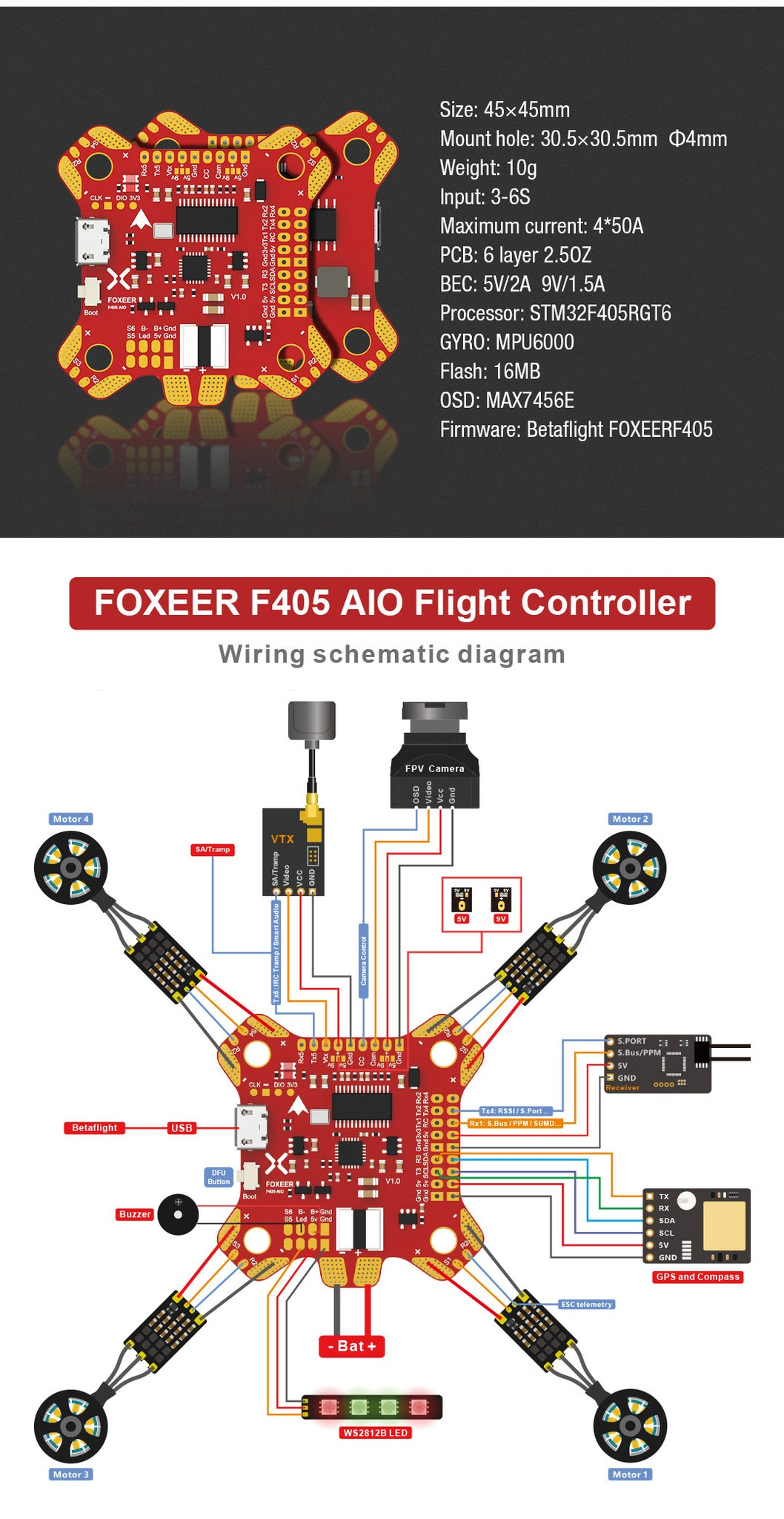 AIO Flight Controller for Sale