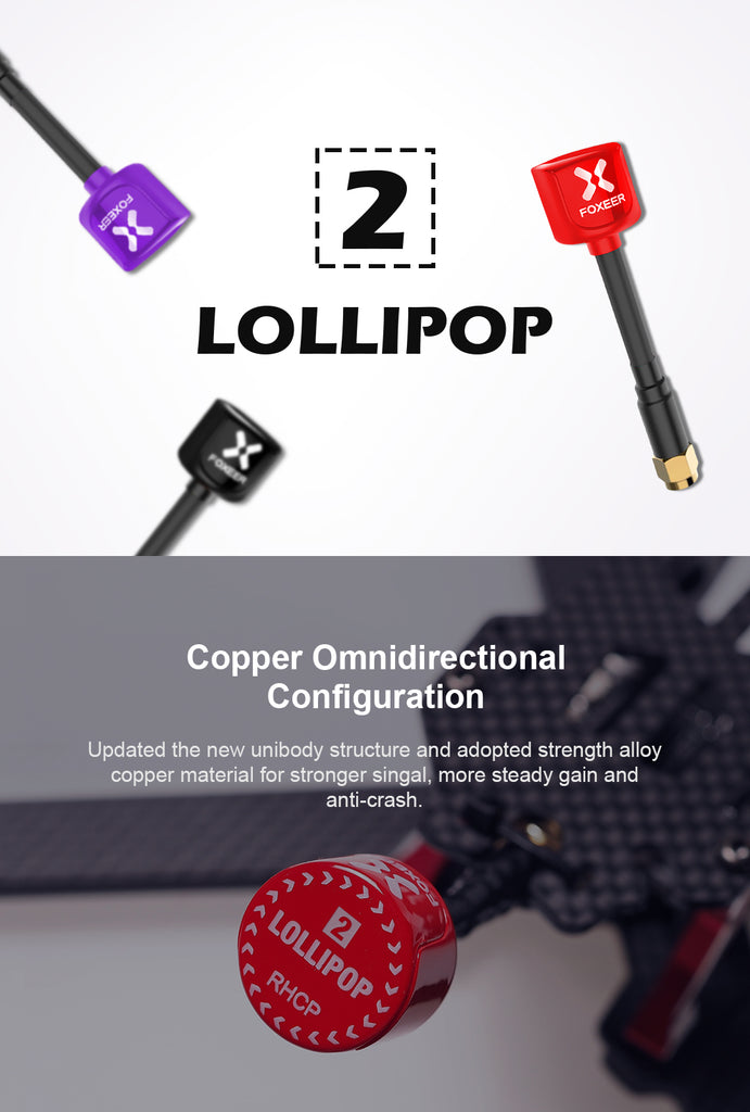Foxeer Lollipop V2 Antenna for Sale