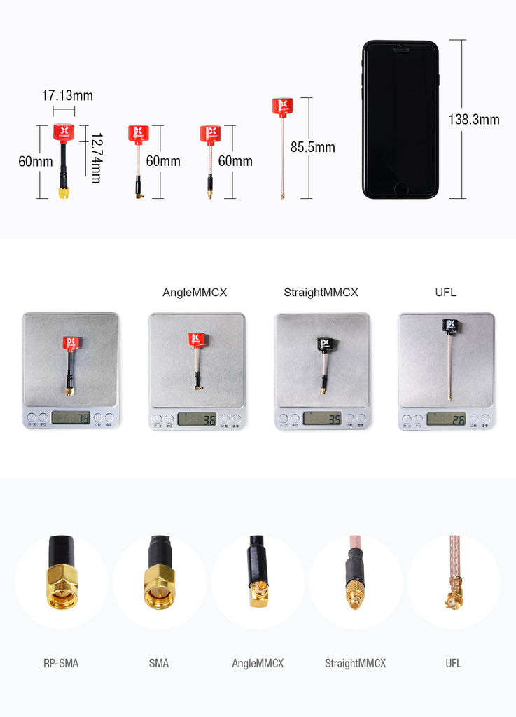 Foxeer Lollipop V2 U.FL Antenna for Sale