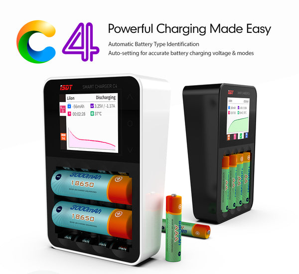 ISDT C4 Smart Battery Charger  for Sale