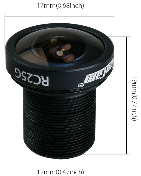 GoPro Lens for Foxeer and Runcam FPV Cameras