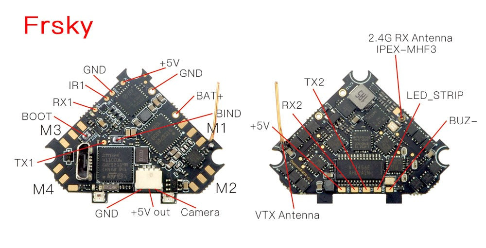 HappyModel DiamondF4 All-In-One Whoop Flight Controller for Sale