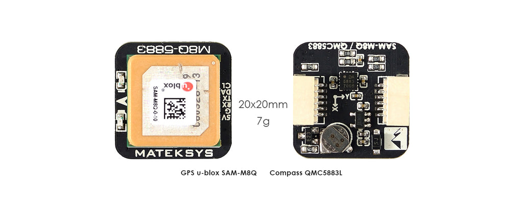 Matek M8Q-5883 GPS & Compass Module for Sale