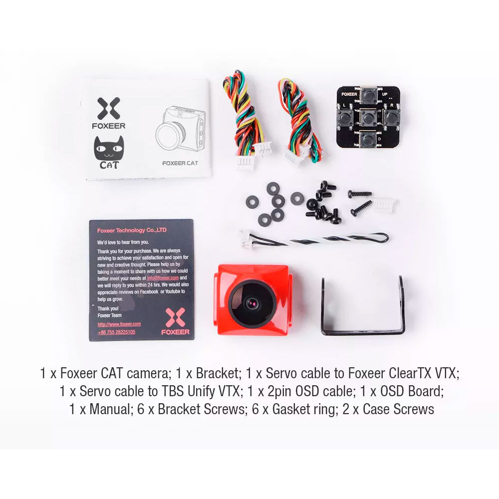 Foxeer Cat Super Starlight Low Light Full Size FPV Camera for Sale