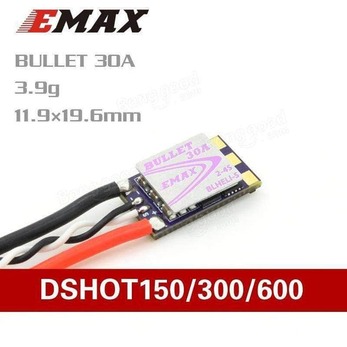 EMAX Bullet 2-4S DShot600 30A ESC - RaceDayQuads