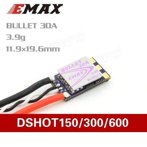 EMax 30a Bullet ESC DShot 600 for Sale