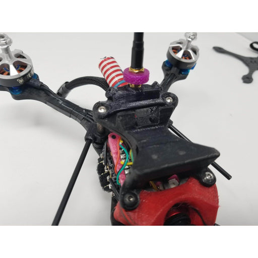 90° RX Antenna Tube Holder for Standoff 2 Pack - 3D Printed TPU - Choose Your Color - RaceDayQuads