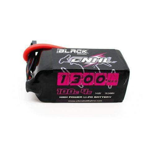 XT60 CNHL Black Series 14.8V 4S 1300mAh 100C LiPo Battery for Sale