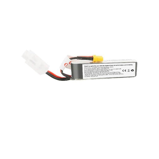 Tattu 7.6V 2S 450mAh 95C LiHV Micro Battery (Long Type) - XT30 - RaceDayQuads