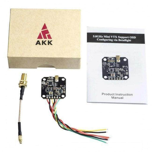 AKK FX3 Ultimate Mini 20x20 25-600mW 5.8GHz VTX w/ Smart Audio - MMCX & U.FL - RaceDayQuads
