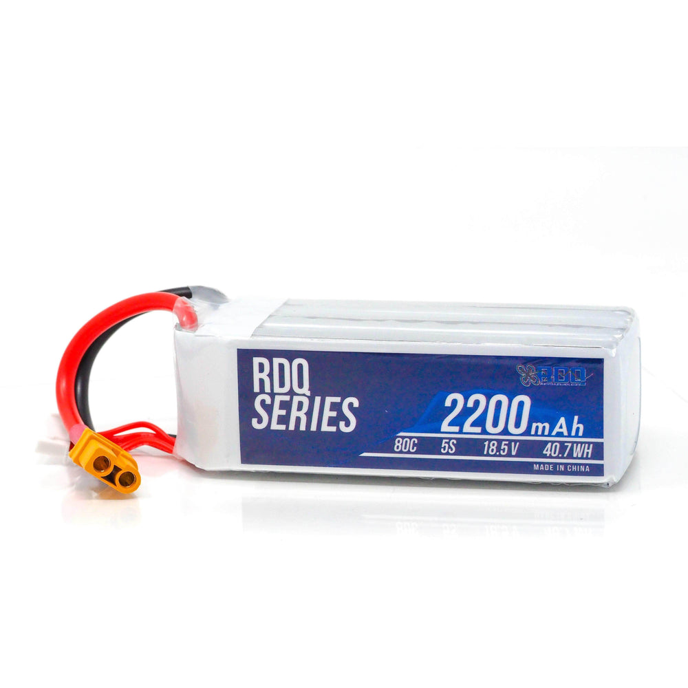 RDQ Series 2200mah 5S 80C FPV Long Range Battery for Sale