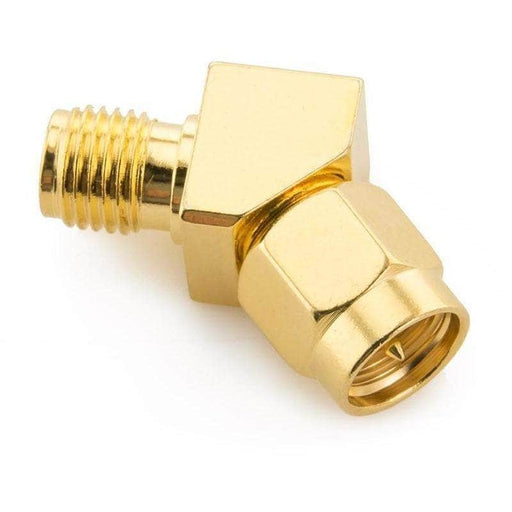SMA Male to Female 45 Degree Connector