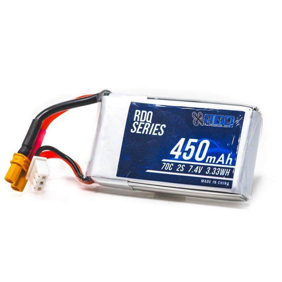 RDQ Series 450mah 2S 70C XT30 FPV Battery for Sale