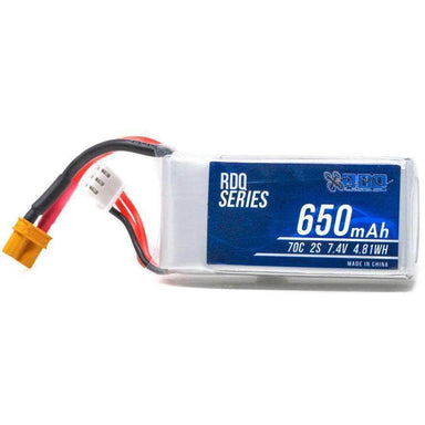 RDQ Series 650mah 2S 70C XT30 FPV Battery for Sale