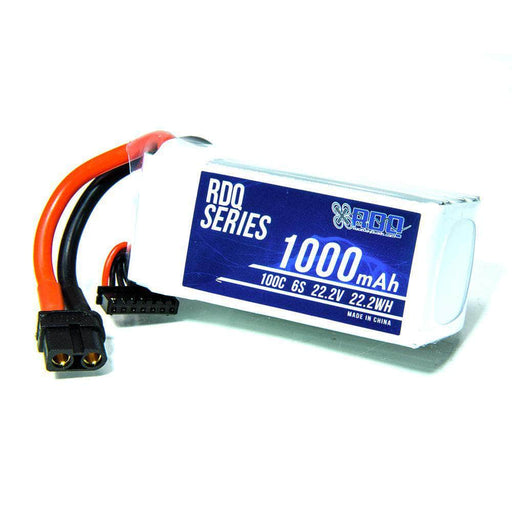 RDQ Series 22.2V 6S 1000mAh 100C LiPo Battery - XT60