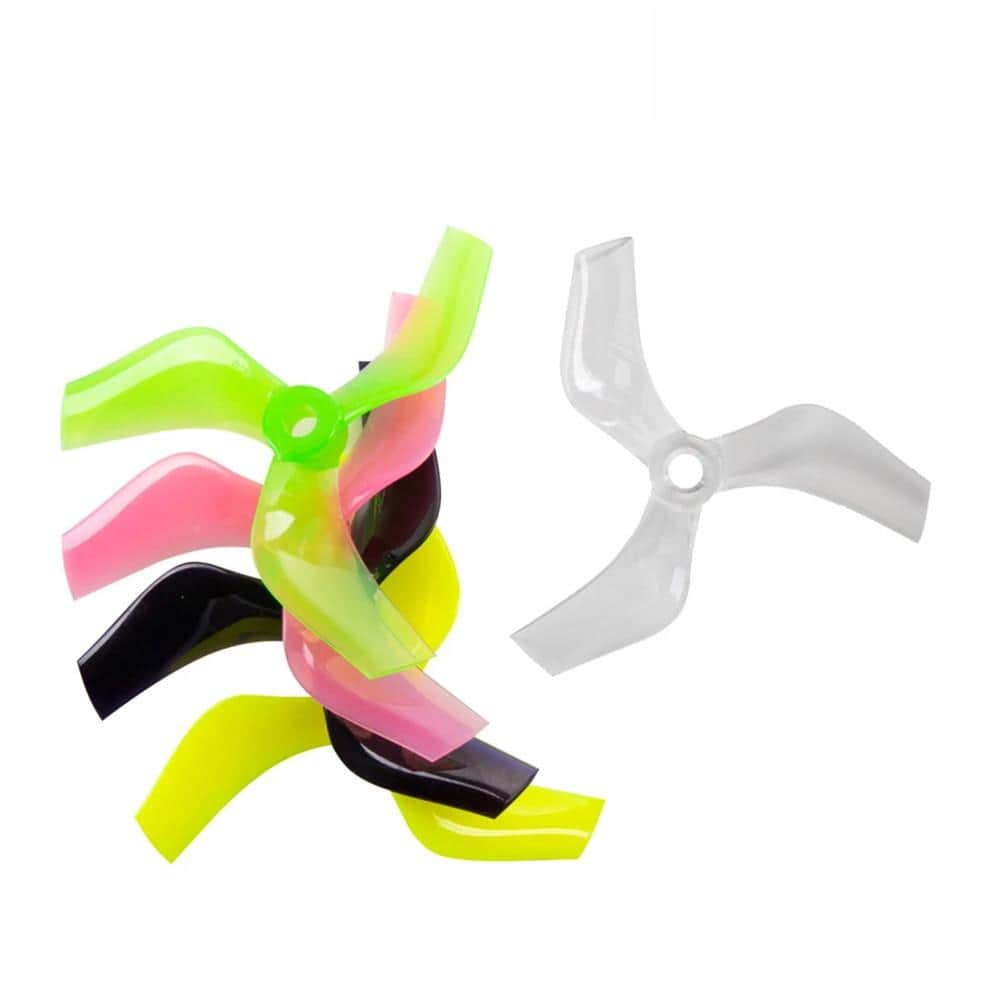 "Gemfan Ducted 75mm Tri-Blade 3"" Prop 4 Pack - Choose Your Color - RaceDayQuads"