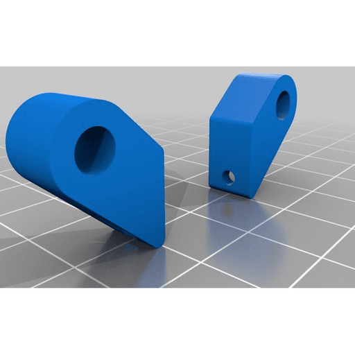 RDQ Micro Camera Mount for Mach 1 Frame - 3D Printed TPU - Black - RaceDayQuads