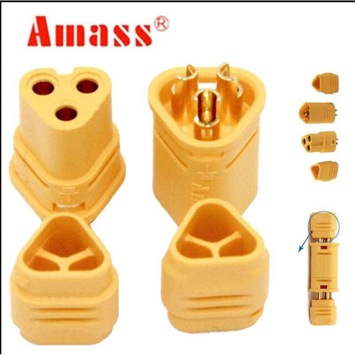 AMASS MT30 Connector Male/Female Set