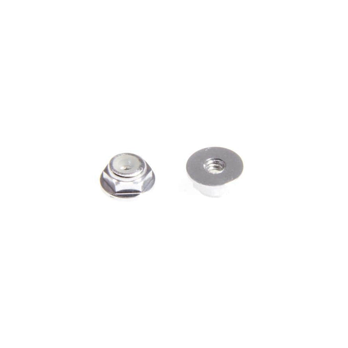 M2 Nylock Nut w/ Flange (1PC) - Silver