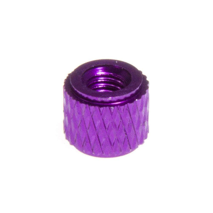 M3 Knurled Standoff w/ Small Step (1PC) - Choose Your Color & Size
