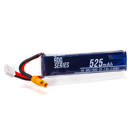 RDQ Series 525mah 2S 80C 7.6V HV XT30 FPV Micro Battery for Sale