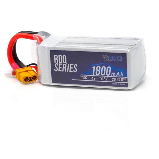RDQ Series 14.8V 4S 1800mAh 100C LiPo Battery - XT60