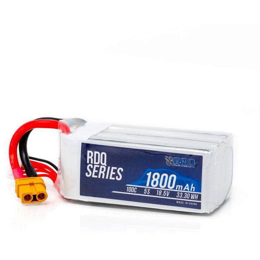 RDQ Series 18.5V 5S 1800mAh 100C LiPo Battery - XT60
