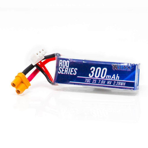 RDQ Series 300mah 2S 70C 7.6V HV FPV Micro Battery for Sale