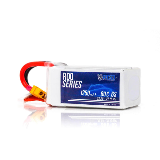 RDQ Series 6S 1250mah 80C FPV Lipo Battery for Sale