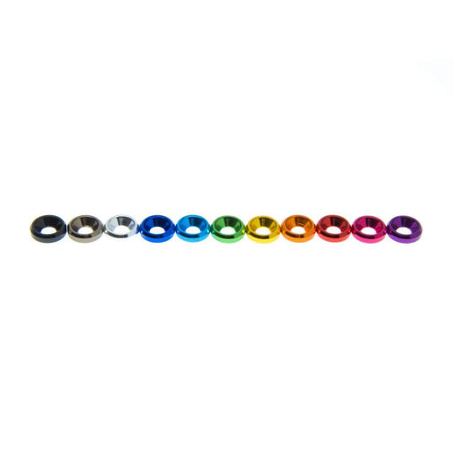 M3 Countersunk Washer (1PC) - Choose Your Color