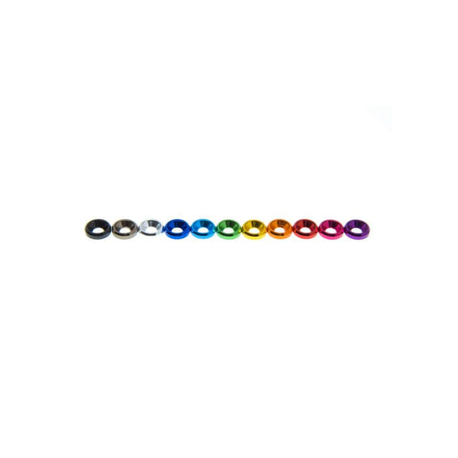 M2 Countersunk Washer (1PC) - Choose Your Color - RaceDayQuads