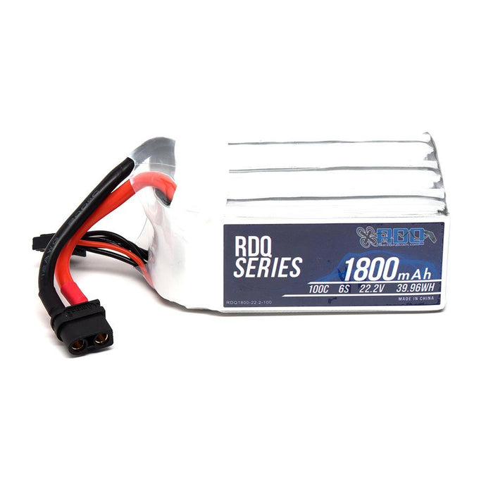 RDQ Series 22.2V 6S 1800mAh 100C LiPo Battery - XT60