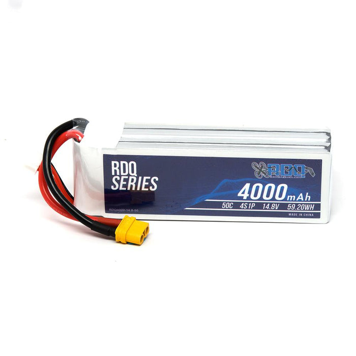 RDQ Series 14.8V 4S 4000mAh 50C LiPo Battery - XT60